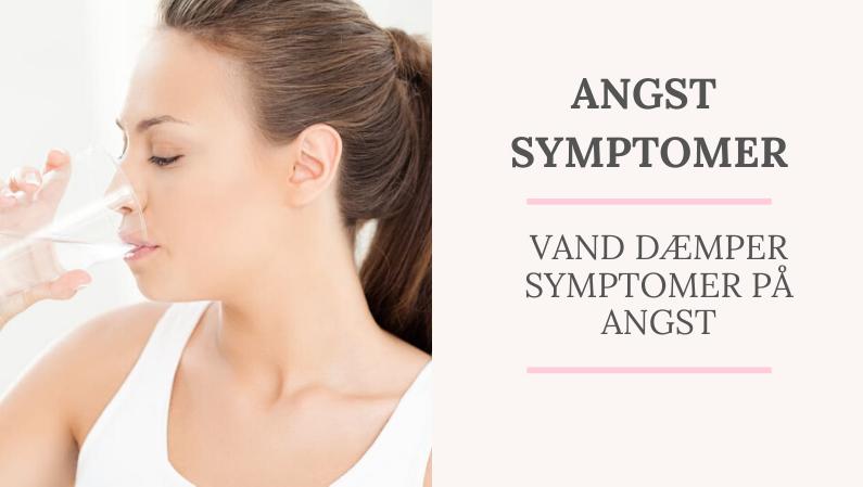 Angst symptomer