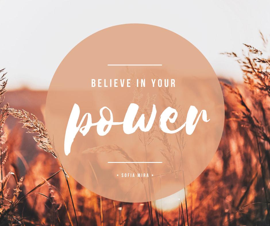 Tro på din power